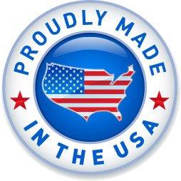 about badge - Сделано в США