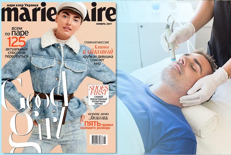 Дело молодое: лучшие косметологические процедуры для мужчин | Marie Claire