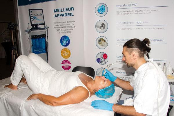 HydraFacial MD® на выставке Face2Face (Канны)
