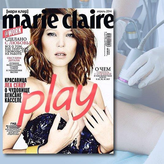 Комплексное моделирование фигуры | Marie Claire 2014
